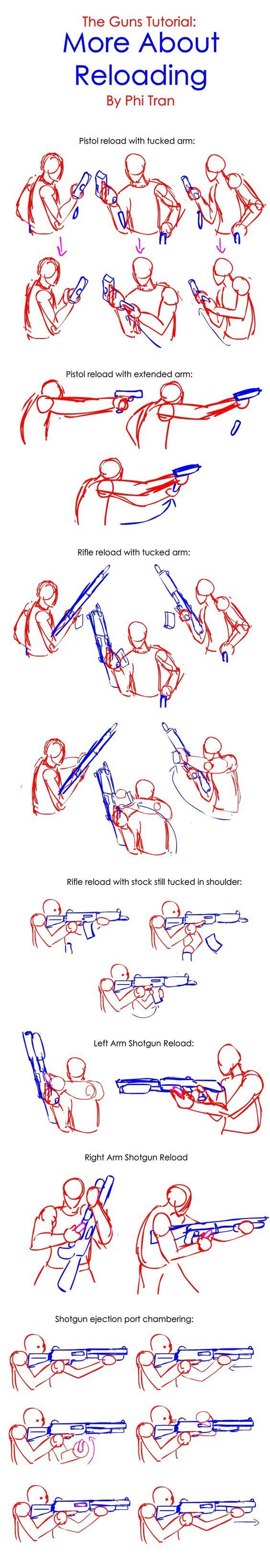 The Guns Mini-Tutorial: More About Reloading by PhiTuS.deviantart.com on @DeviantArt: