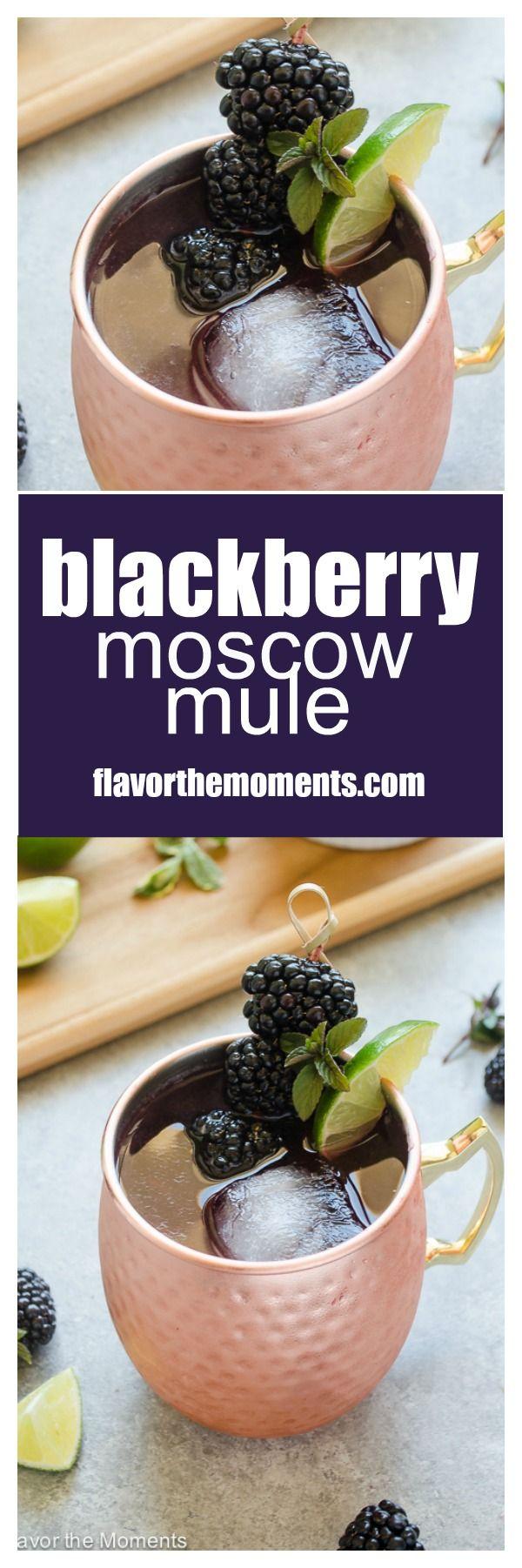 Blackberry Moscow Mule