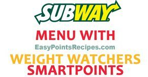♨️♨️ Please For more Weight Watchers Recipes and Tips be sure you follow US on Facebook : HERE Source: fastfoodnutrition YOU MAY ALSO LIKE New Burger King Menu Updated With SmartPoints 2017 Chick-Fil-A's Menu : Weight Watchers SmartPoints Guide (10SP or Less) Target Grocery Haul With Wei…