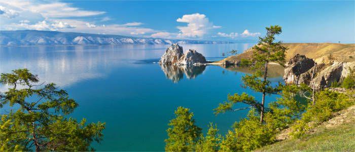 Die Insel Olkhon im Baikalsee