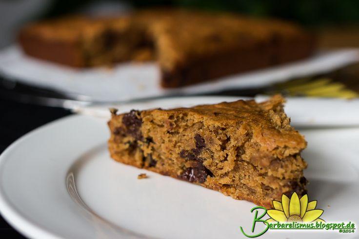 Bolo de Banana e Pasta de Amendoim - Veganana