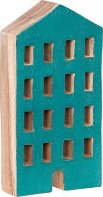 Figurka House niebieski - Obrazy i rzeźby - Artykuły Dekoracyjne - Meble VOX