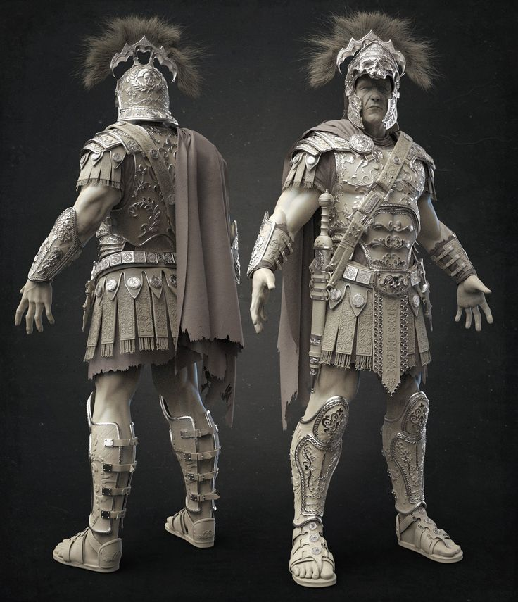 ArtStation - The Centurion- Clay, Damon Woods