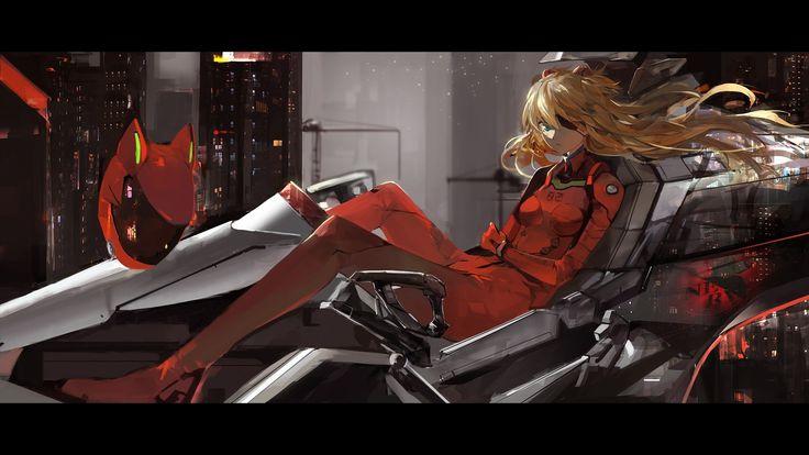 Asuka Langley Soryu - Neon Genesis Evangelion Wallpaper #5218