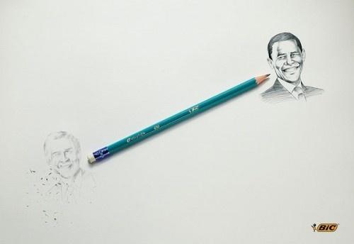Que te parecen estos famosos rostros, dibujados con nuestro lápiz Evolution verde con punta de grafito!!