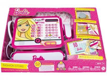 Caixa Registradora Fashion Store Barbie Luxo - Infantil Fun 7274-9. com as melhores condições você encontra no Magazine Luizamarcelonune. Confira!