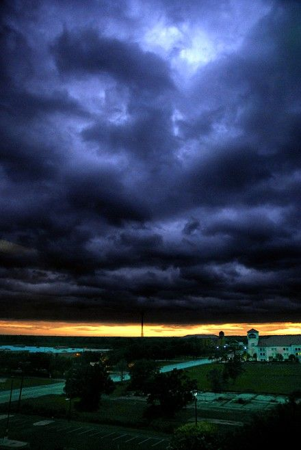 Hurricane Ike. Beaumont, Texas