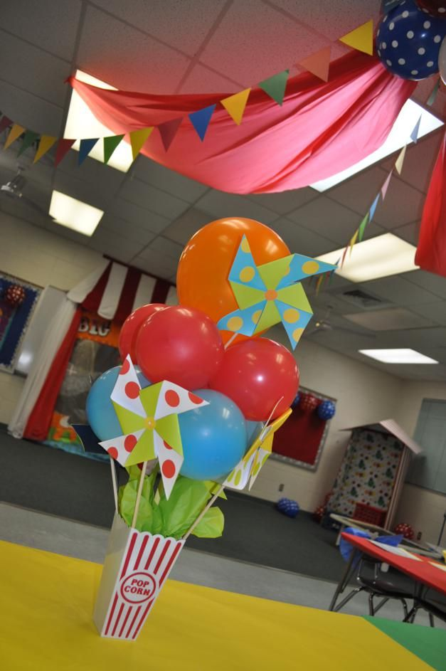 2012 Circus Themed Kindergarten Graduation Party