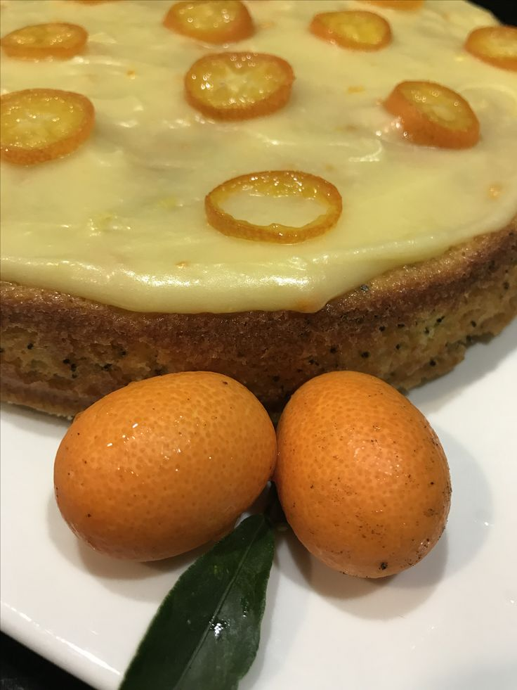 Cumquat and Poppyseed baked goodness