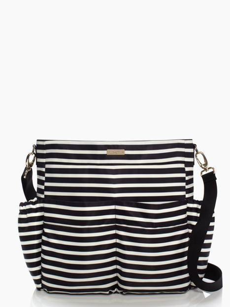 Be a stylish mama with the #KateSpade Holland Walk Adamson diaper bag! // KateSpade.com - #DesignerDiaperBag #Preppy