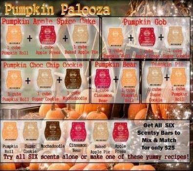 Pumpkin Palooza Scentsy Recipes chrissyeldridge.scentsy.us