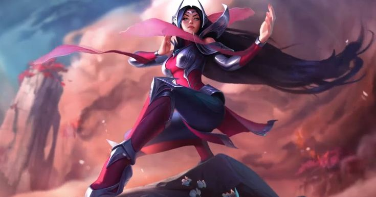 Irelia League Of Legends Animated Wallpaper Free And Save