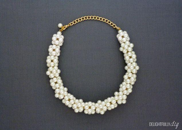 Deliziosamente fai da te: collana di perle J.Crew ispirata