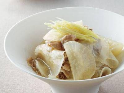 [大根と豚肉の薄氷煮(うすらいに)] 料理レシピ|みんなのきょうの料理