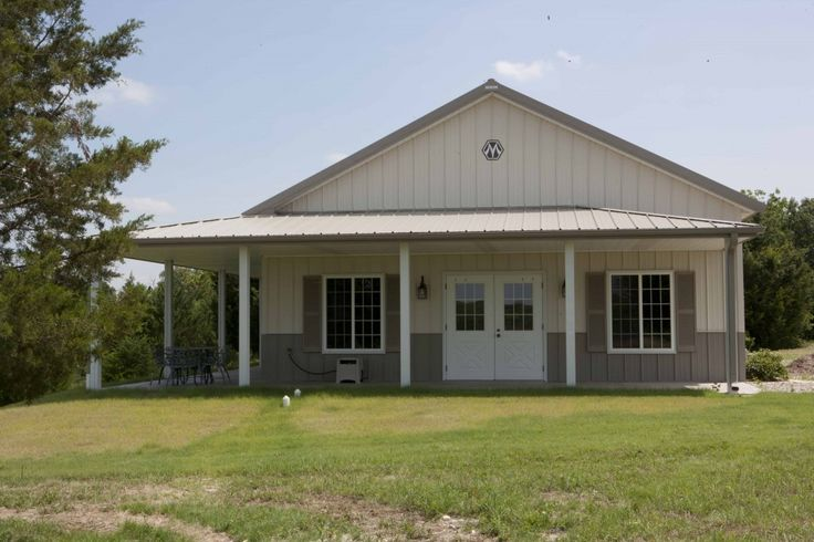 Morton metal buildings homes morton buildings celebrates for Morton building cabin