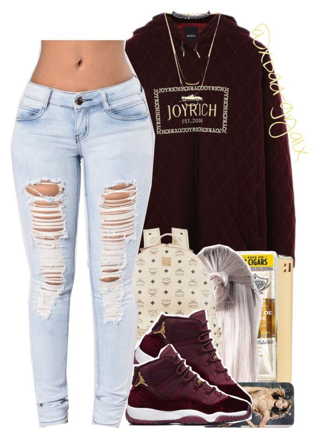 """""""{Always got it on me baby, automatic}"""" by xbad-gyalx ❤ liked on Polyvore featuring MCM, Gorjana and Wet Seal"""