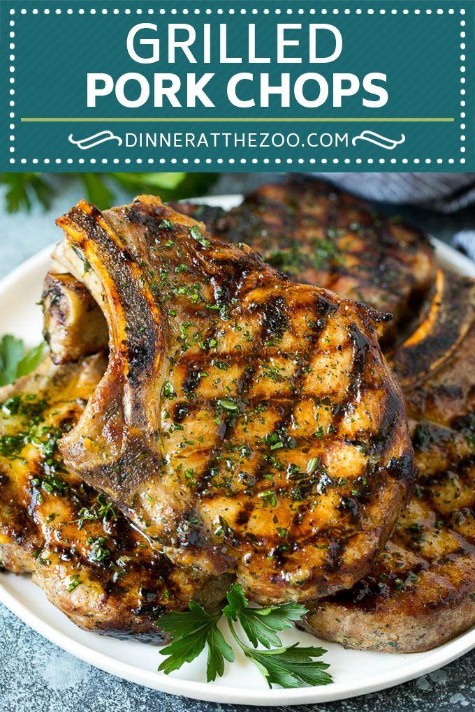 Grilled Pork Chops   Pork Chop Marinade #porkchops #grilling #pork #marinade #di…