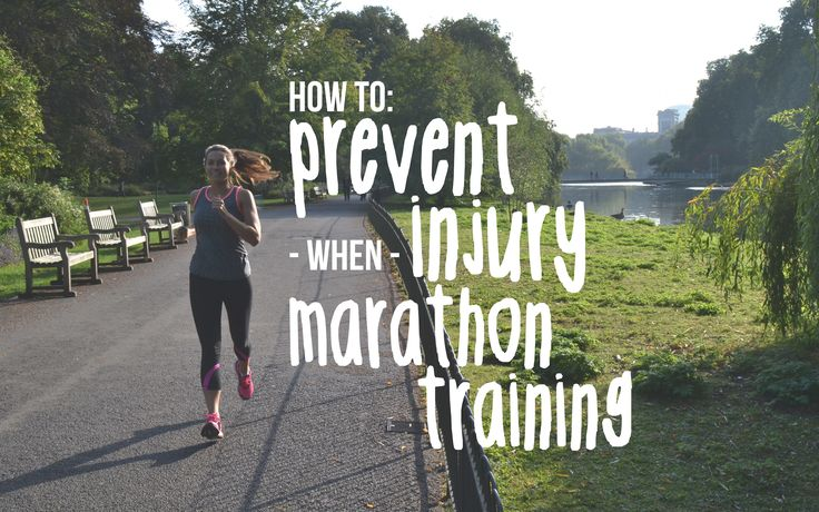 Marathon training can put a lot of stress on the body Here are a few tips to help prevent injuries whilst you train to run those 26.2 miles! www.therunnerbeans.com
