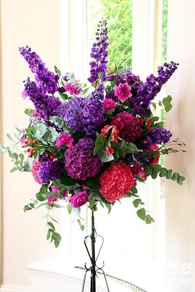 17 best images about flowers on pinterest flower pastel for Flower arrangements with delphinium
