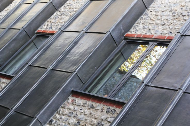 1000 images about lead in modern architecture on pinterest for Contemporary roofing materials