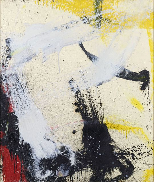 Norman Bluhm | Composition, 1961 (1961) | Available for Sale | Artsy