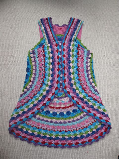 Use stash yarn. Cotton, cotton/acrylic, sockyarn. App. Yardage 17-220m/50g (180-240 yatds/2 oz). 12   buttons.   One size. Fits small-...