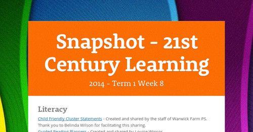 Snapshot - 21st Century Learning
