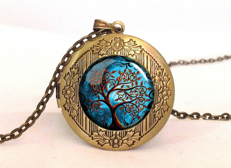 Big Tree of life Locket, 0472LPB from EgginEgg by DaWanda.com