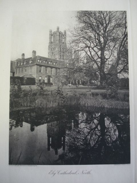 Ely Cathedral, North View, Ely, Cambridgeshire, England, UK, 1886
