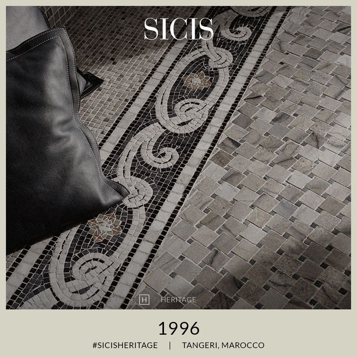 #SicisHeritage 1996 Sicis designs and realizes 17,000 sm of artistic mosaic to the Malabata Hotel in Tangeri - Marocco.