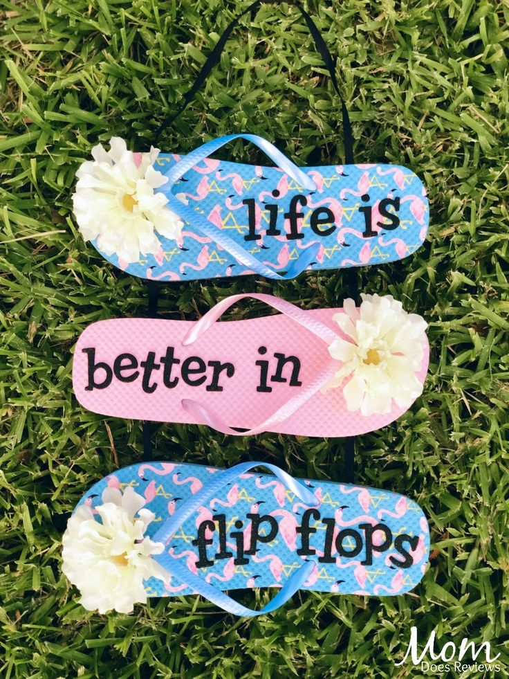 Flip Flop Sign (a Dollar Store Craft)