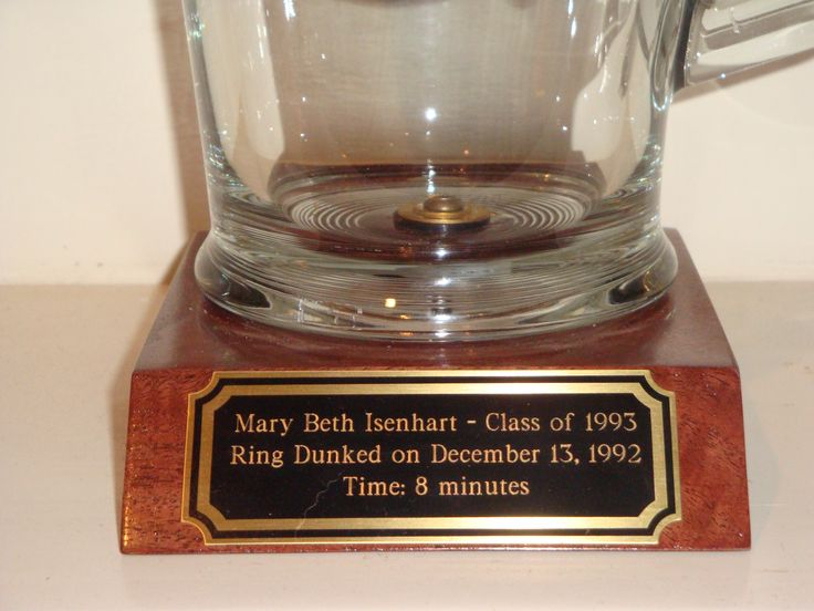 Aggie Ring Dunk Memento