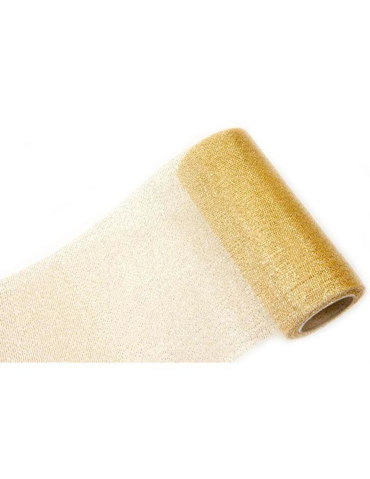 Nastro oro metallizzato 5 m X 10 cm su VegaooParty, negozio di articoli per feste. Scopri il maggior catalogo di addobbi e decorazioni per feste del web,  sempre al miglior prezzo!