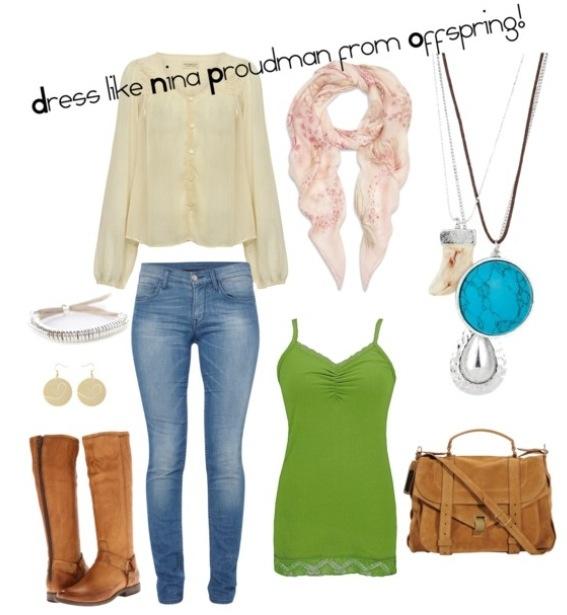 Nina proudman offspring fashion pregnant style