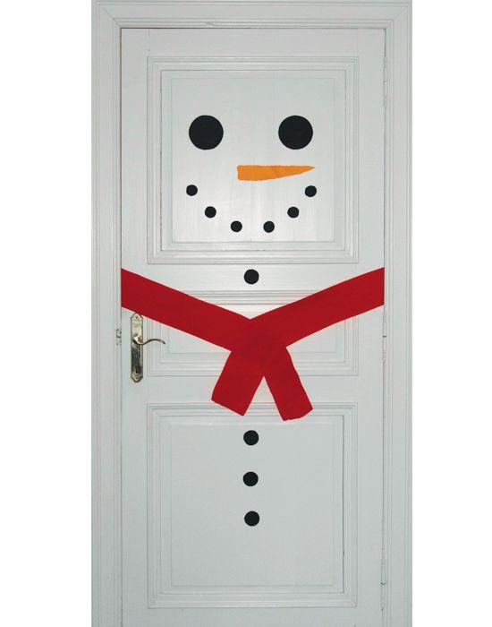 Tover je deur om tot sneeuwman