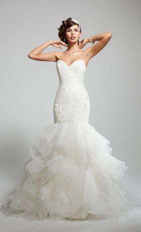 Matty by Matthew Christopher wedding gown available at StarDust Celebrations, a Dallas bridal boutique