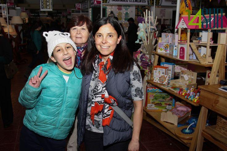 Monserrat Opazo, Paula Robles y Alicia de la Fuente