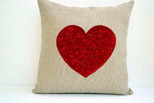 Amore Beaute Handmade Ivory White Burlap Heart Pillow Cov... http://www.amazon.com/dp/B00DW2S2R6/ref=cm_sw_r_pi_dp_GUmvxb02ZT5J3