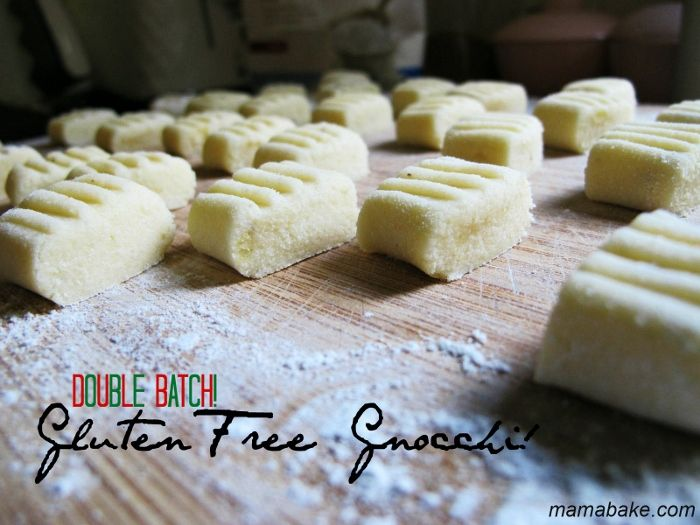 Gluten Free Gnocchi recipe ! Big batch recipe! With Well & Good flour! @Theresa Clements and Good #glutenfree