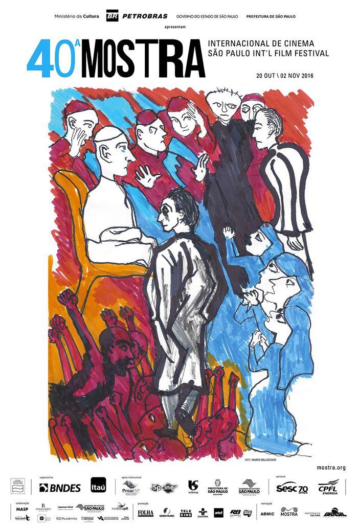 A MIC tem o privilégio de comemorar o seu 40º aniversário com a arte do grande diretor italiano Marco Bellocchio. Dono de uma das mais importantes e emblemáticas filmografias dos últimos 50 anos, Bellocchio será celebrado com uma seleção de seus filmes mais representativos e com o Prêmio Leon Cakoff pelo conjunto de sua obra. Seu cinema político e humano estará presente também com seus recentes trabalhos: o curta-metragem Pagliacci e Belos Sonhos, filme de abertura desta edição da Mostra.