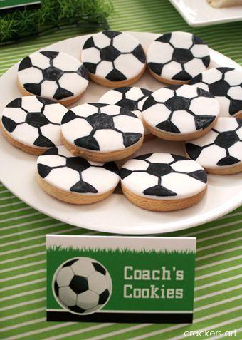 Karo's Fun Land: Soccer Theme Birthday Party