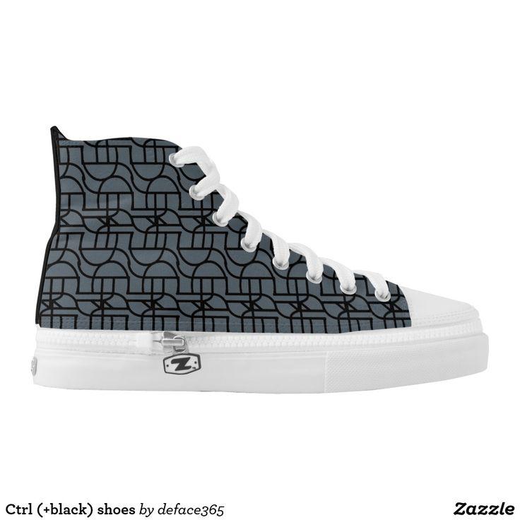 Ctrl (+black) shoes printed shoes