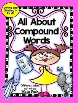 Just print and go! This product is full of so many different ways for young learners to learn all about compound words. Some worksheets are differentiated. Easy directions on worksheets will make them easy for young students to work independently.