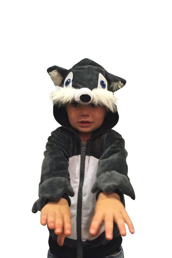 Super Comfy Halloween Costume Wolf Costume Hoodie by ComfyCostumes