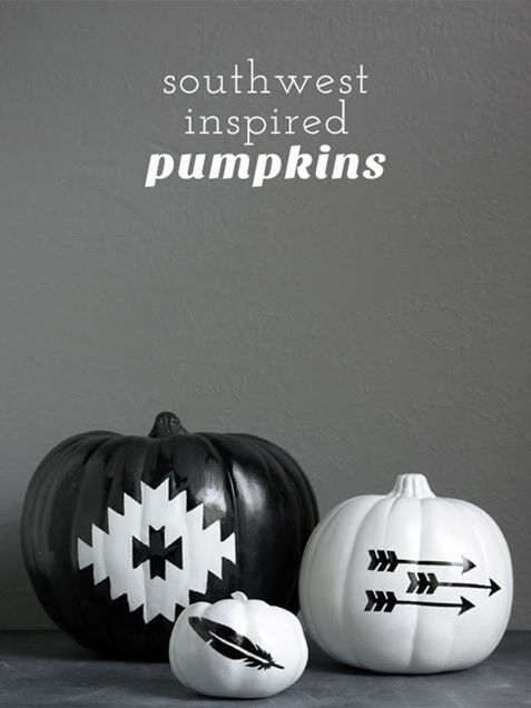 Black and White Halloween DIY Decor Ideas - iVillage