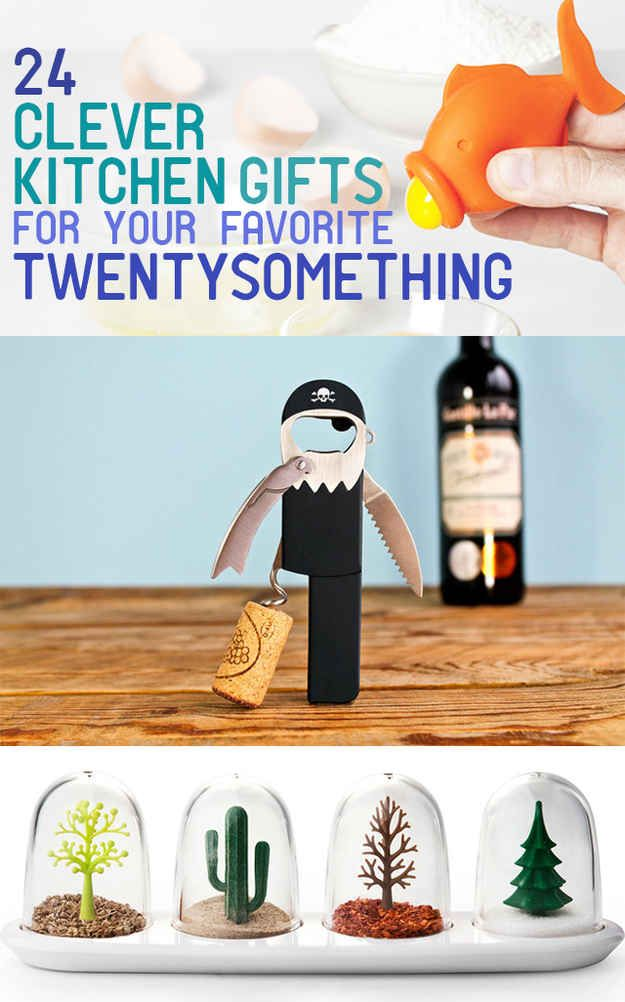 24 Clever Kitchen Gifts For Your Favorite Twentysomething- most of these are really neat
