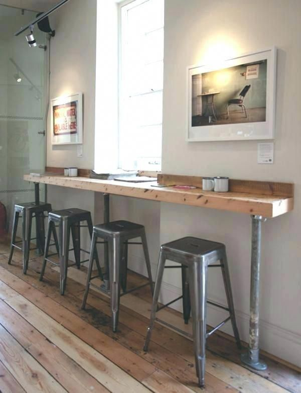 Kitchen Bar Table Against Wall Bar Against Wall Coffee Shop Interior Designs From Around Coffee Shop Interior Design Coffee Shops Interior Cafe Interior Design