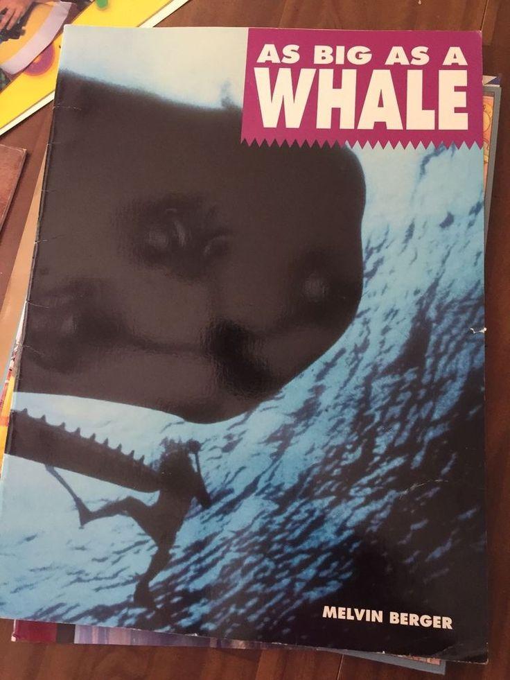 34 mejores imgenes de teacher oversized big books en pinterest teacher big book as big as a whale oversized melvin berger 1993 science fandeluxe Images