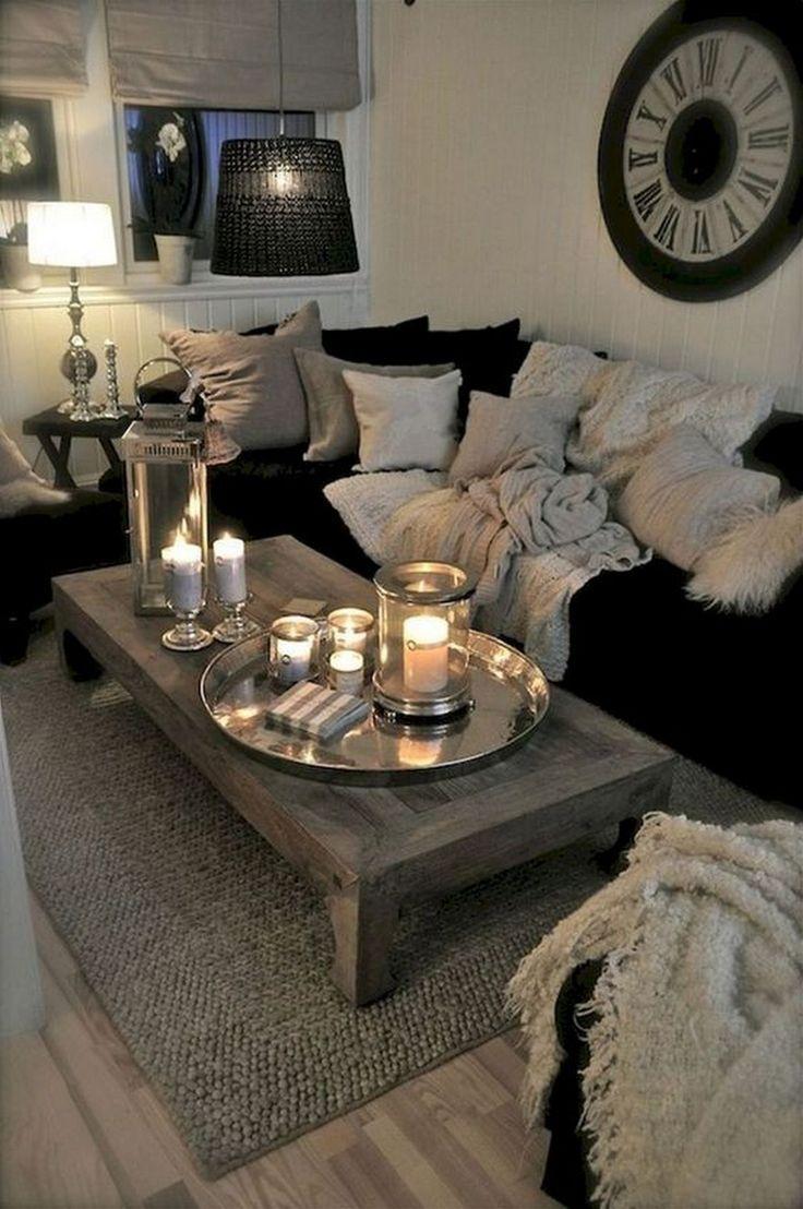 9 Elegante Wohnideen für das Wohnzimmer in der Wohnung zum einfachen Kopieren