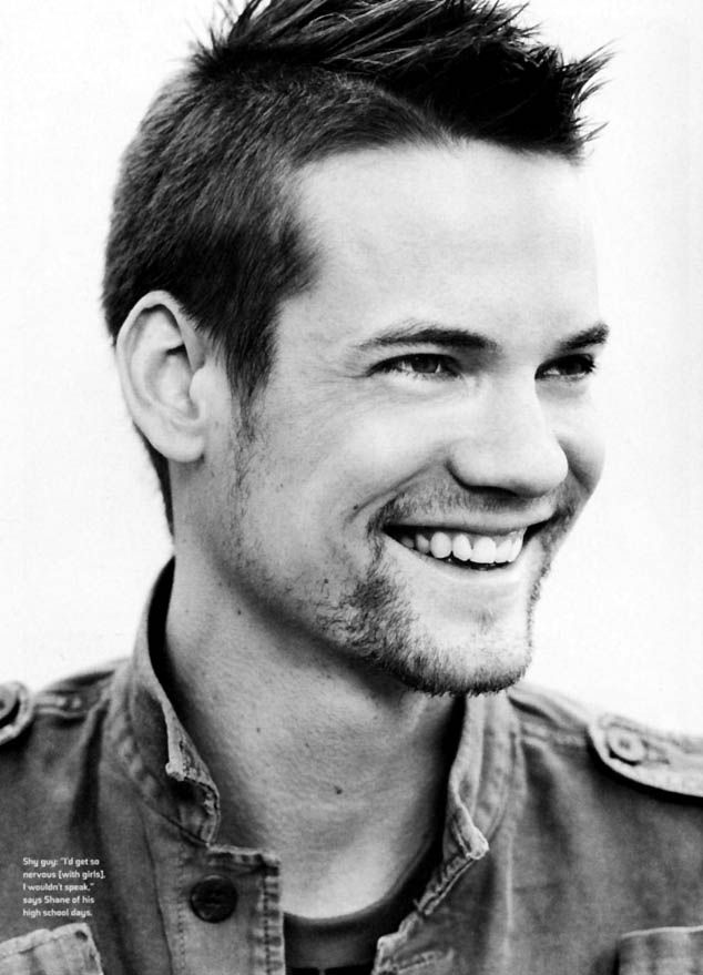 Shane West. His smolder is hot but his grin is heart-melting!